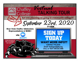 Chaffey College Virtual Talking Tour